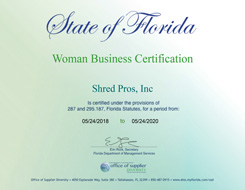 Woman Business Certification